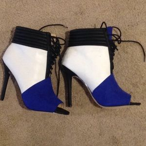 GX by Gwen Stefani Shoes - 👠👠BRAND NEW!!!! COLOR BLOCK BOOTIE!!! 👠👠👠👠